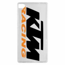 Чохол для Huawei P8 KTM Racing - FatLine
