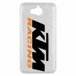 Чохол для Huawei Y5 2017 KTM Racing - FatLine