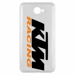 Чохол для Huawei Y7 2017 KTM Racing - FatLine