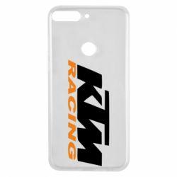 Чохол для Huawei Y7 Prime 2018 KTM Racing - FatLine