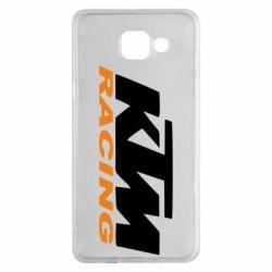 Чохол для Samsung A5 2016 KTM Racing - FatLine