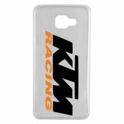 Чохол для Samsung A7 2016 KTM Racing - FatLine