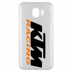 Чохол для Samsung J4 KTM Racing - FatLine