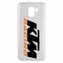 Чохол для Samsung J6 KTM Racing - FatLine