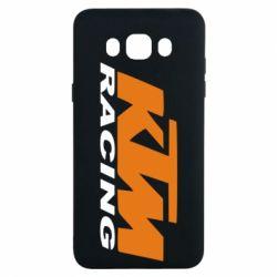 Чохол для Samsung J7 2016 KTM Racing - FatLine