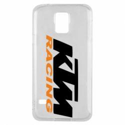 Чохол для Samsung S5 KTM Racing - FatLine