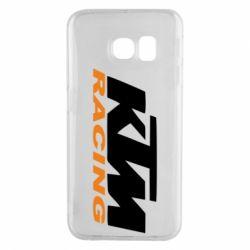 Чохол для Samsung S6 EDGE KTM Racing - FatLine