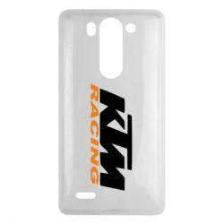 Чохол для LG G3 Mini/G3s KTM Racing - FatLine