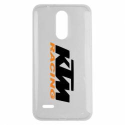 Чохол для LG K7 2017 KTM Racing - FatLine