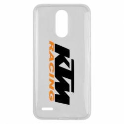 Чохол для LG K10 2017 KTM Racing - FatLine
