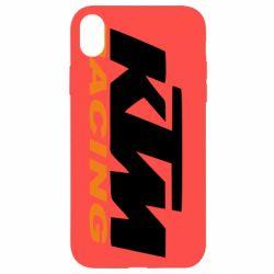 Чохол для iPhone XR KTM Racing - FatLine