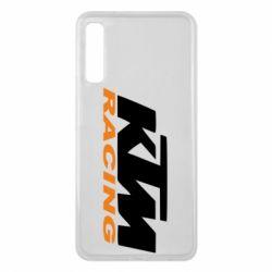 Чохол для Samsung A7 2018 KTM Racing - FatLine