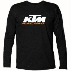 Футболка с длинным рукавом KTM Racing - FatLine