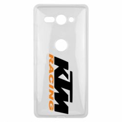 Чохол для Sony Xperia XZ2 Compact KTM Racing - FatLine