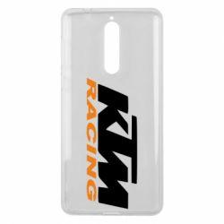 Чохол для Nokia 8 KTM Racing - FatLine