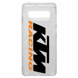 Чехол для Samsung S10+ KTM Racing