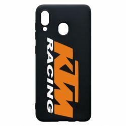 Чехол для Samsung A20 KTM Racing