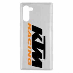 Чехол для Samsung Note 10 KTM Racing