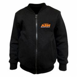 Детский бомбер KTM Racing
