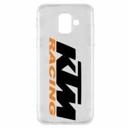 Чохол для Samsung A6 2018 KTM Racing - FatLine
