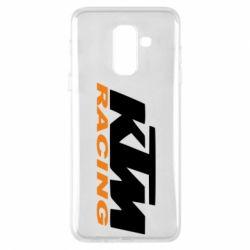 Чохол для Samsung A6+ 2018 KTM Racing - FatLine