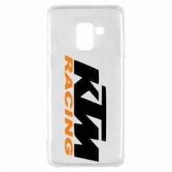Чохол для Samsung A8 2018 KTM Racing - FatLine