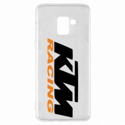 Чохол для Samsung A8+ 2018 KTM Racing - FatLine