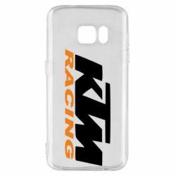 Чохол для Samsung S7 KTM Racing - FatLine