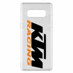 Чохол для Samsung Note 8 KTM Racing - FatLine
