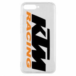 Чохол для Huawei Y6 2018 KTM Racing - FatLine