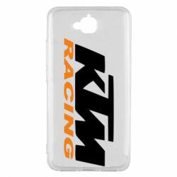 Чохол для Huawei Y6 Pro 2018 KTM Racing - FatLine