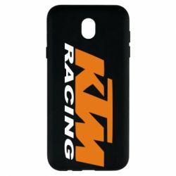 Чохол для Samsung J7 2017 KTM Racing - FatLine