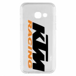 Чохол для Samsung A3 2017 KTM Racing - FatLine