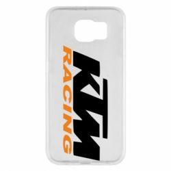 Чохол для Samsung S6 KTM Racing - FatLine
