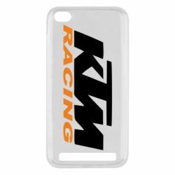 Чохол для Xiaomi Redmi 5a KTM Racing - FatLine