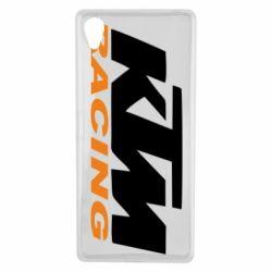 Чохол для Sony Xperia X KTM Racing - FatLine