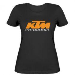 Женская футболка KTM Sportmotorcycles - FatLine