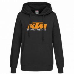 Женская толстовка KTM Sportmotorcycles - FatLine