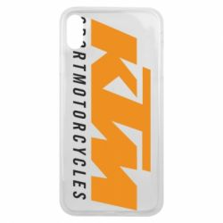 Чохол для iPhone Xs Max KTM Sportmotorcycles