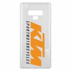 Чохол для Samsung Note 9 KTM Sportmotorcycles