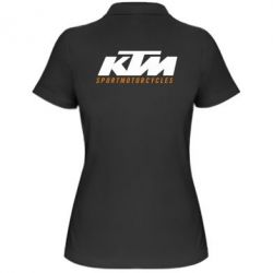 Женская футболка поло KTM Sportmotorcycles - FatLine