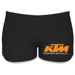 Женские шорты KTM Sportmotorcycles - FatLine