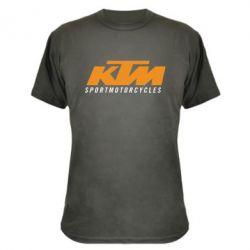 Камуфляжная футболка KTM Sportmotorcycles - FatLine
