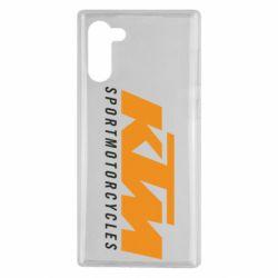 Чохол для Samsung Note 10 KTM Sportmotorcycles