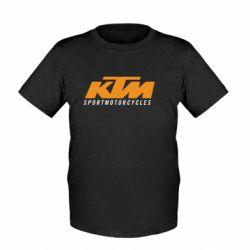 Детская футболка KTM Sportmotorcycles - FatLine