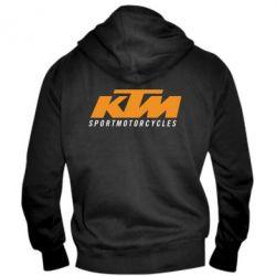 Мужская толстовка на молнии KTM Sportmotorcycles - FatLine