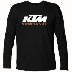 Футболка с длинным рукавом KTM Sportmotorcycles - FatLine