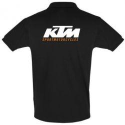 Футболка Поло KTM Sportmotorcycles - FatLine