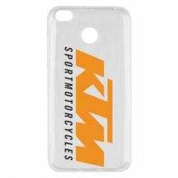 Чехол для Xiaomi Redmi 4x KTM Sportmotorcycles