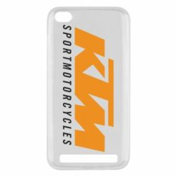 Чехол для Xiaomi Redmi 5a KTM Sportmotorcycles